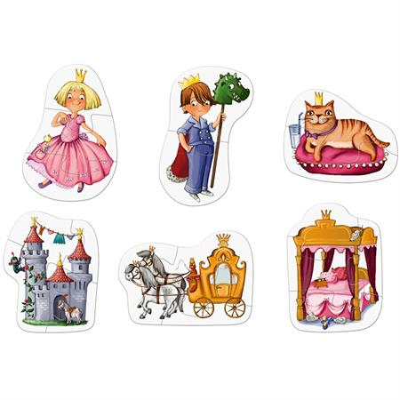 Haba 6 erste Puzzles Prinzessin