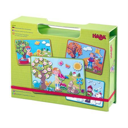 Haba Magnetspiel Box Jahreszeiten