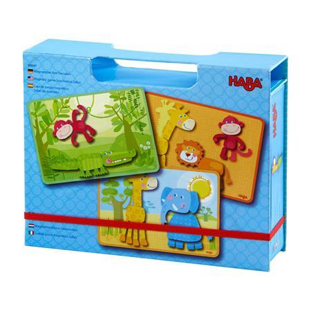 Haba Magnetspiel Box Tier Safari