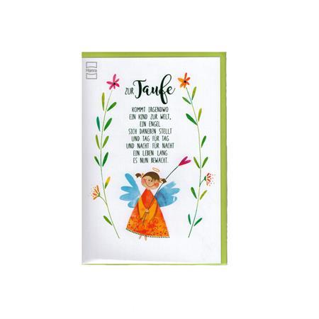 Hanra Glückwunschkarten Zur Taufe Engel