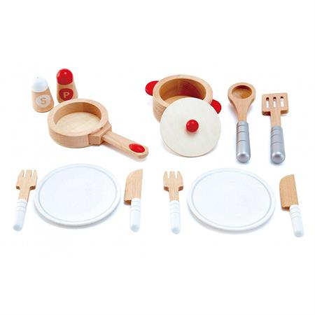 Hape Spielzeug Koch und Servierset