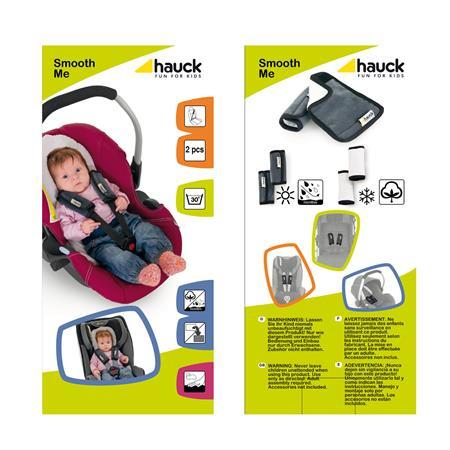 hauck gurtpolster buggy autositz 618158 Smooth Me Black packshot Detaillierte Ansicht 02