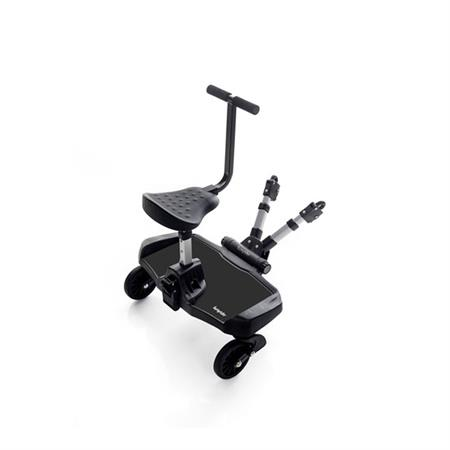 Hoco Bump Rider Buggy Board für Kinderwagen mit Sitz Black