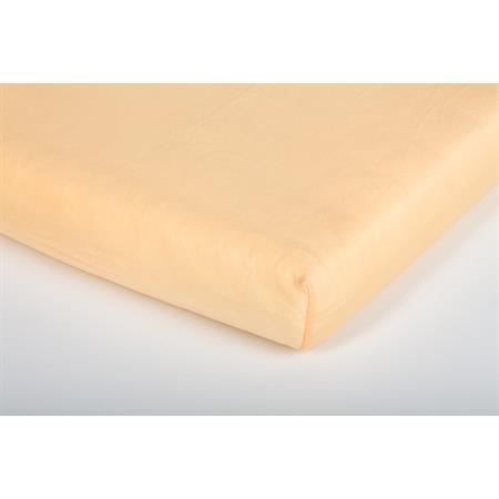 Träumeland Spannbetttuch Jersey Apricot 40x90cm Detailansicht 01