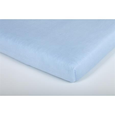 Träumeland Spannbetttuch Jersey Hellblau 70x140cm Detailansicht 01