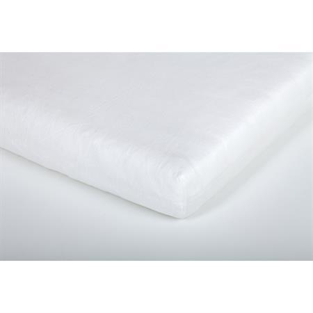 Träumeland Spannbetttuch Jersey Weiß 100x100 cm Detailansicht 01