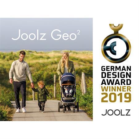 JOOLZ Zwillingswagen Geschwisterwagen Kinderwagen GEO2 Earth Edition Parrot Blue