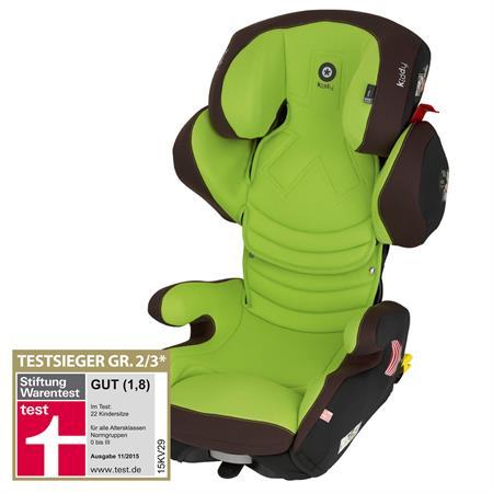 Kiddy Smartfix | Kindersitz Gruppe 2/3 | Stiftung Warentest GUT 1,8 - 11/2015