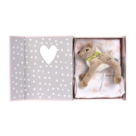 Lässig Geschenkbox Welcome Box Lela Spucktuch und Lätzchen
