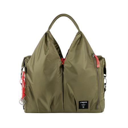 Lässig Green Label Neckline Bag Wickeltasche POP olive