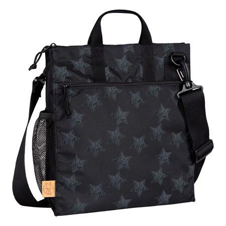 laessig wickeltasche casual buggy bag design 2016 reflective star black Hauptbild
