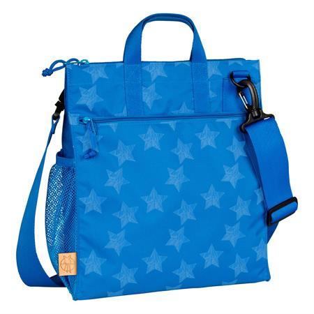 laessig wickeltasche casual buggy bag design 2016 reflective star blue Hauptbild