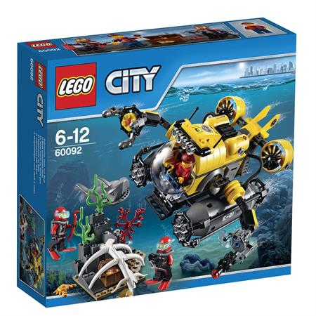 Lego City Tiefsee U-boot