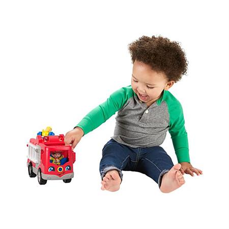 Fisher Price Little People Spielzeug Auto Feuerwehr