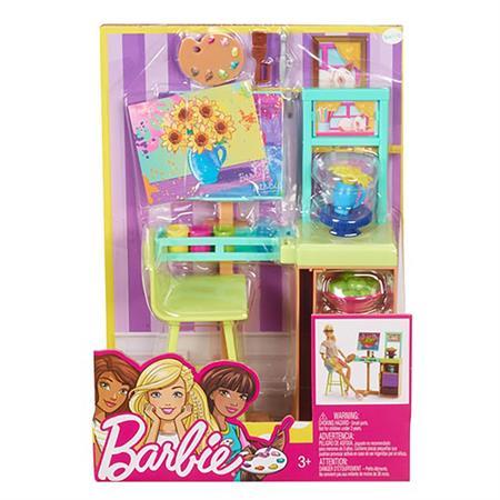 Mattel Barbie Berufe Spielset Kunstatelier
