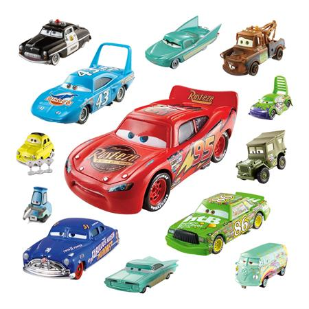 mattel disney cars 2 charakter w1938 die cast fahrzeuge w hlbar. Black Bedroom Furniture Sets. Home Design Ideas