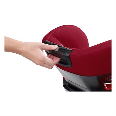 Maxi-Cosi Rodifix Airprotect Robin Red Headrest Back