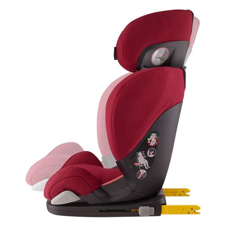 Maxi-Cosi Rodifix Airprotect Robin Red Recline Position