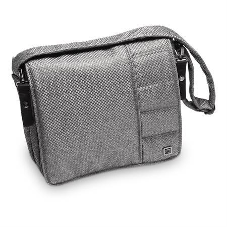 Moon Wickeltasche Messenger Bag Design 2019 Anthrazit / Panama
