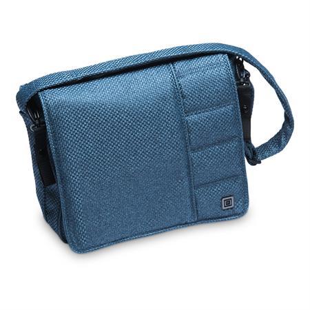 Moon Wickeltasche Messenger Bag Design 2019 Blue / Panama