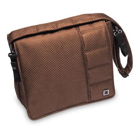 Moon Wickeltasche Messenger Bag Design 2019 Chocolate / Panama