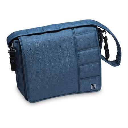 Moon Wickeltasche Messenger Bag Design 2019 Blue / Structure