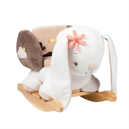 Nattou Mia und Basile Schaukeltier Kaninchen