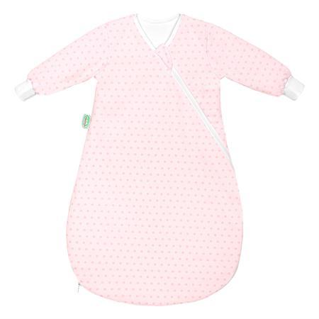 Odenwaelder 1430 Jersey Unterzieh Babynest 1430 1092 Springing Dots Rose Quarz
