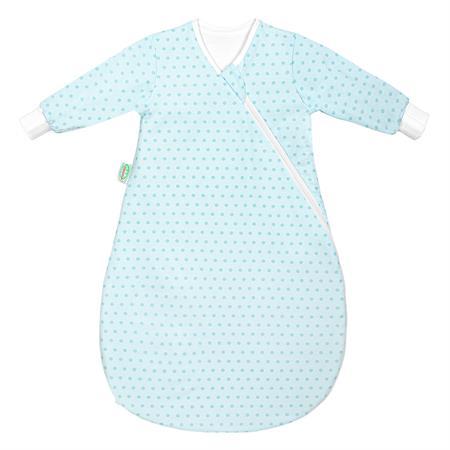 Odenwaelder 1430 Jersey Unterzieh Babynest 1430 1093 Springing Dots Frozen Minze
