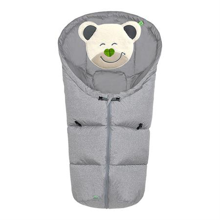 Odenwälder Fußsäkchen 11437 Mucki Fashion New Woven Soft Grey