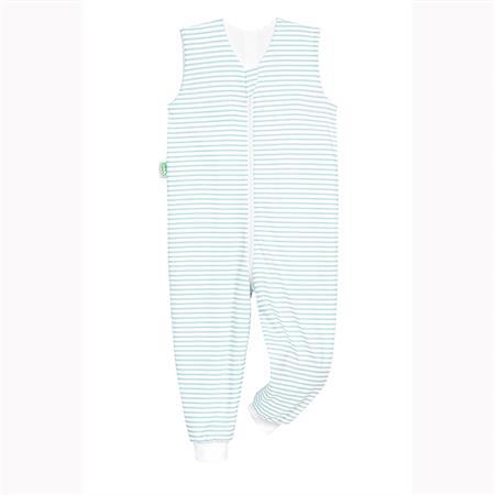 Odenwälder Sommer-Schlafoverall Hopsi Stripes soft mint 98/104