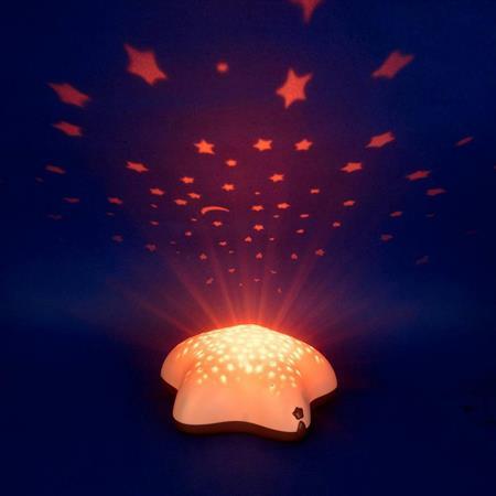 Pabobo Sternprojektor beige