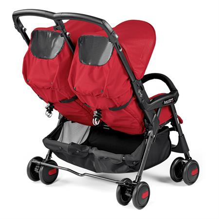 Peg Perego Aria Shopper Twin Mod Red Back Lehne