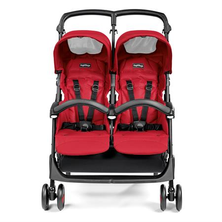 Peg Perego Aria Shopper Twin Mod Red Front