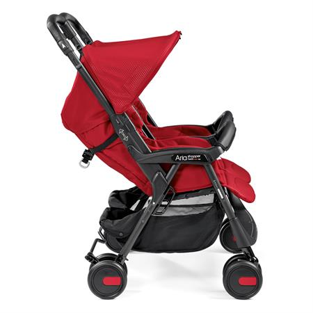 Peg Perego Aria Shopper Twin Mod Red Lehne Verstellbar