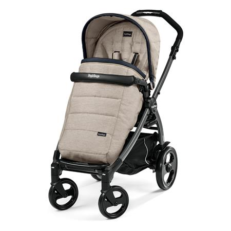Peg Perego Book 51 Completo Luxe Beige Gestell 51 Jet