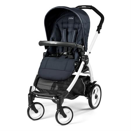Peg Perego Book 51 Completo Luxe Bluenight Gestell 51 Weiss Ohne Beindecke