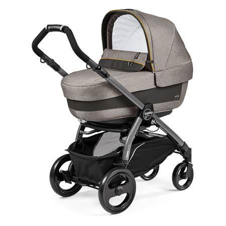 Peg Perego Book 51 Completo Luxe Grey Gestell 51 Jet Navetta