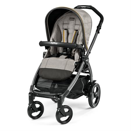 Peg Perego Book 51 Completo Luxe Grey Gestell 51 Jet Ohne Beindecke