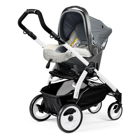 Peg Perego Book 51 Completo Luxe Opal Gestell 51 Weiss Primo Viaggio Sl