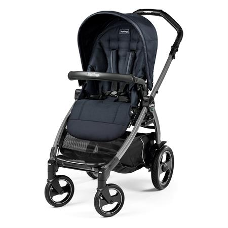 Peg Perego Book 51s Completo Luxe Bluenight Gestell 51s Jet Ohne Beindecke