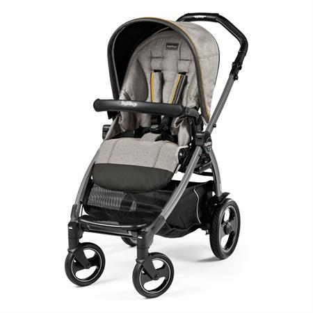 Peg Perego Book 51s Completo Luxe Grey Gestell 51s Jet Ohne Beindecke