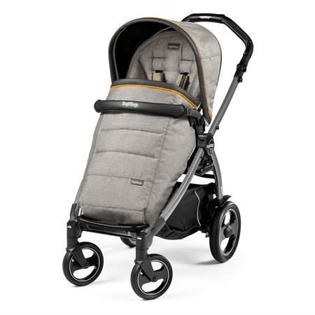 Peg Perego Book 51s Completo Luxe Grey Gestell 51s Jet