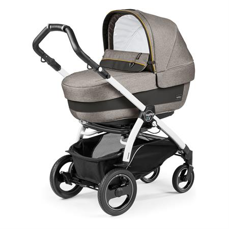 Peg Perego Book 51s Completo Luxe Grey Gestell 51s Weiss Navetta