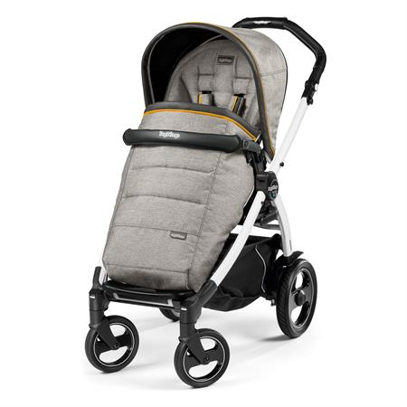 Peg Perego Book 51s Completo Luxe Grey Gestell 51s Weiss