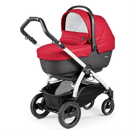 Peg Perego Book 51s Sportivo Bloom Red Gestell 51s Weiss Navetta