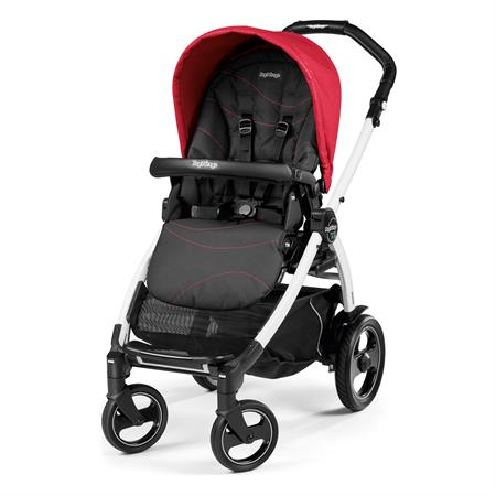 Peg Perego Book 51s Sportivo Bloom Red Gestell 51s Weiss