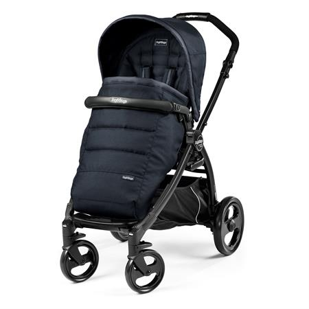 Peg Perego Book Plus Completo Gestell Schwarz Luxe Bluenight