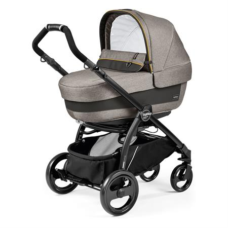 Peg Perego Book Plus Completo Gestell Schwarz Luxe Grey Navetta