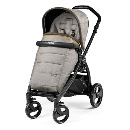 Peg Perego Book Plus Completo Gestell Schwarz Luxe Grey